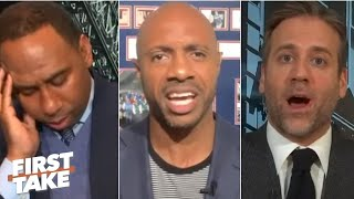 Stop disrespecting the Bucks! - Jay Williams calls out Stephen A. and Max | First Take
