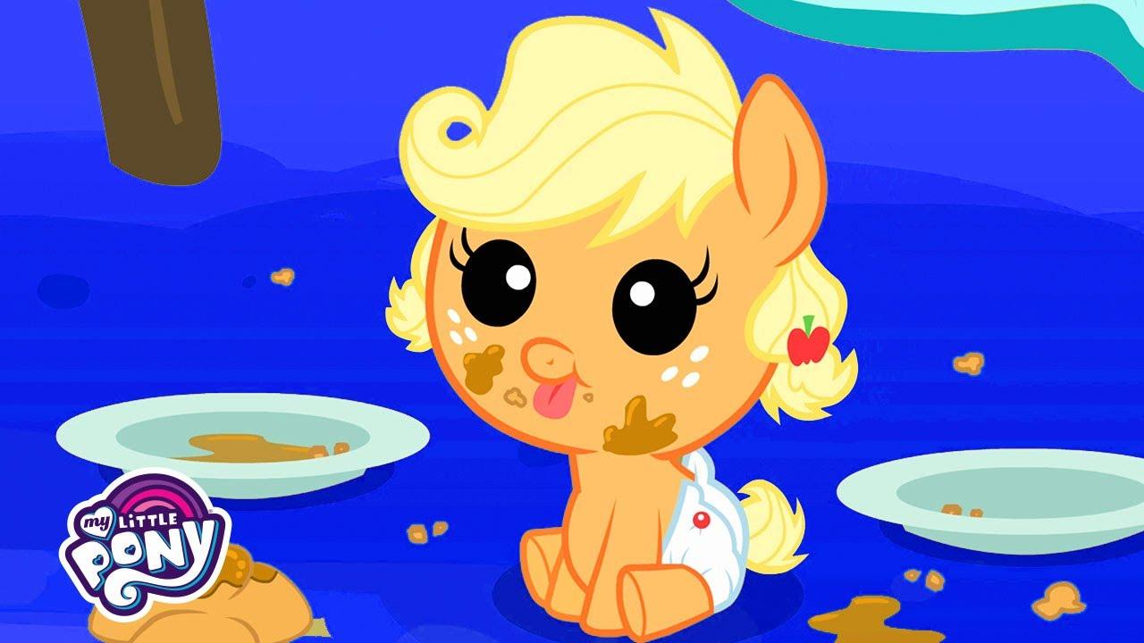 Download My Little Pony | Baby Applejack | My Little Pony Friendship is Magic | MLP: FiM