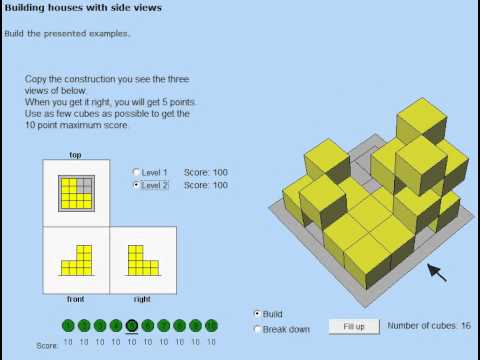 Building Houses with Side Views Walkthrough - Level 2 ...
