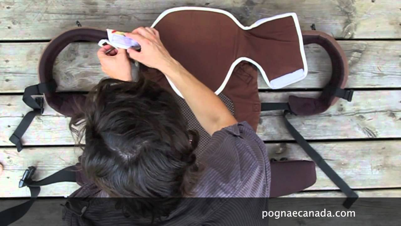 70298ce3207 Pognae - setting up the attachable headrest - YouTube