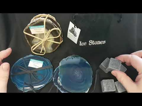 New Agate Coasters