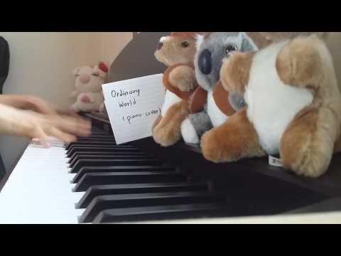 [Piano Cover] Ordinary World - Katharine Mcphee