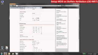 Le programme d'installation de Pontage WDS sur Buffalo AirStation Routeurs sans Fil (DD-WRT)