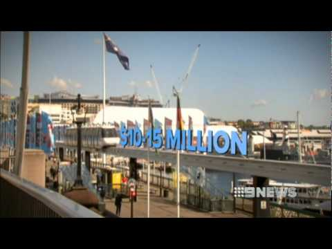 Nine News Sydney: Sydney's Monorail to be torn down. (23/3/2012)