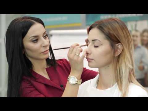 Мастер класс Ольги Каспарянц International School of Beauty Industry