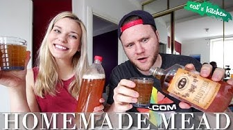 How to make HOMEMADE MEAD | Cat's Kitchen feat Dave Cad