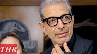 Jeff Goldblum on the 'Jurassic World: Fallen Kingdom' Premiere Red Carpet | THR