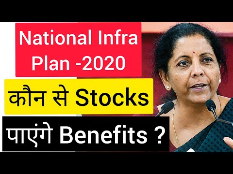 NATIONAL INFRA PLAN | BEST STOCKS TO INVEST IN 2020 | #wealthfirst | BEST STOCKS TO INVEST  IN INFRA
