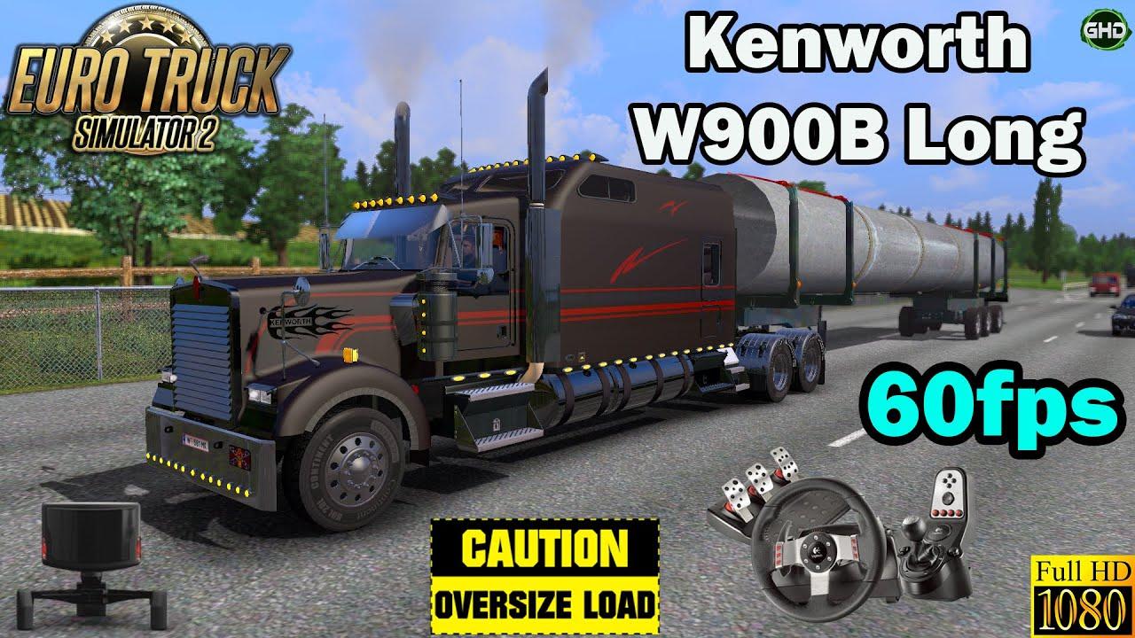 Ets 2 kenworth w900b long