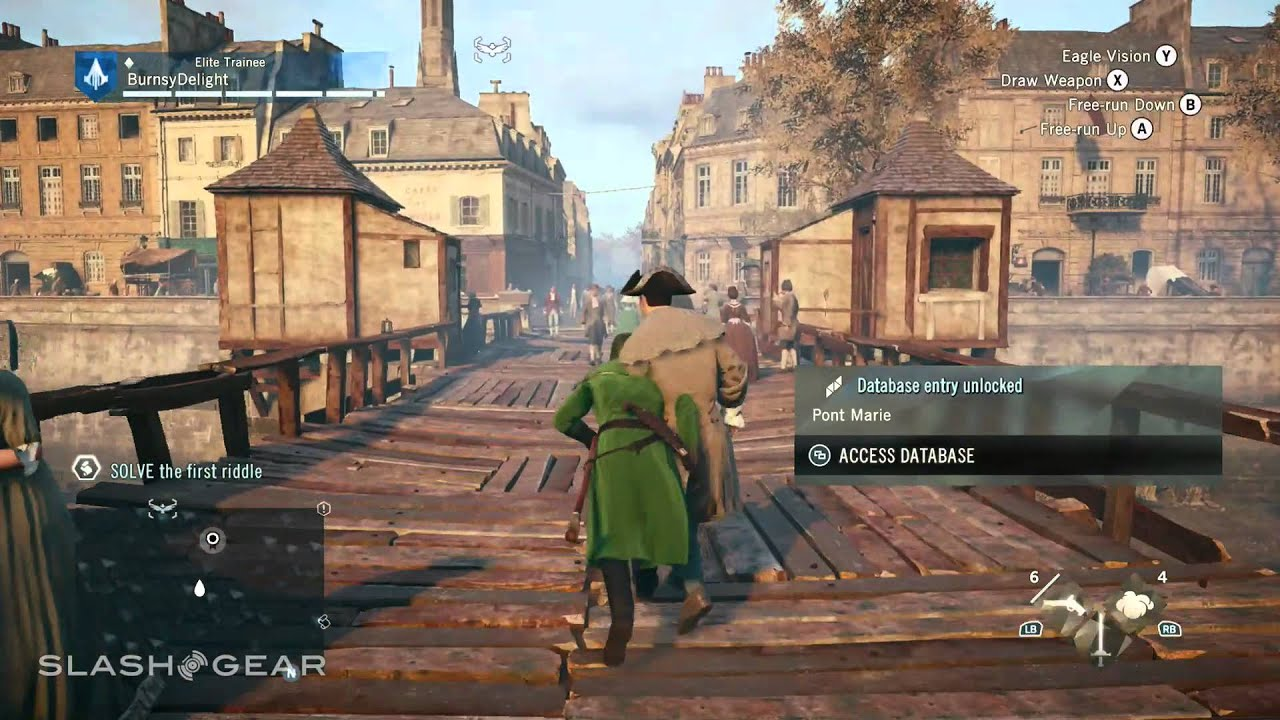 Assassin S Creed Unity Xbox One Gameplay Youtube