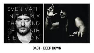 DAST   DEEP DOWN Sven Väth ‎– In The Mix - The Sound Of The 15th Season