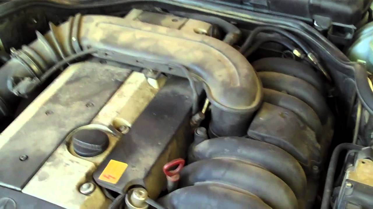 hight resolution of replace camshaft position sensor on mercedes 1997 e320