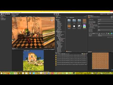 LightField synthesis & realtime render in Unity - sneak preview (raw footage)
