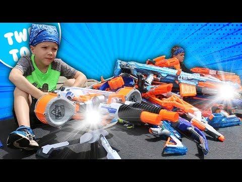 Nerf War:  Boys vs Girls 2 Behind the Scenes