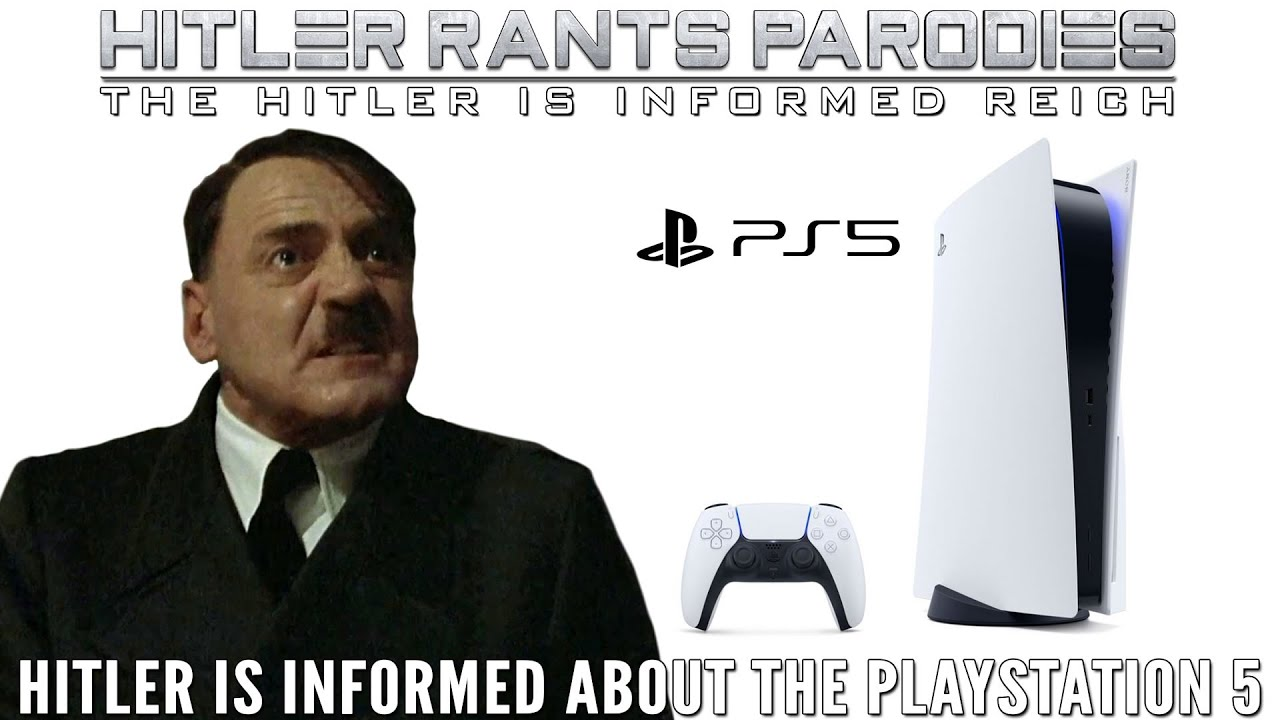Hitler is informed about the PlayStation 5