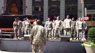 ARMY SOLDIER SHOW 42nd STREET PART 1