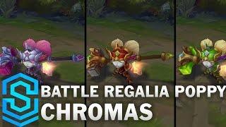 Battle Regalia Poppy Chroma Skins