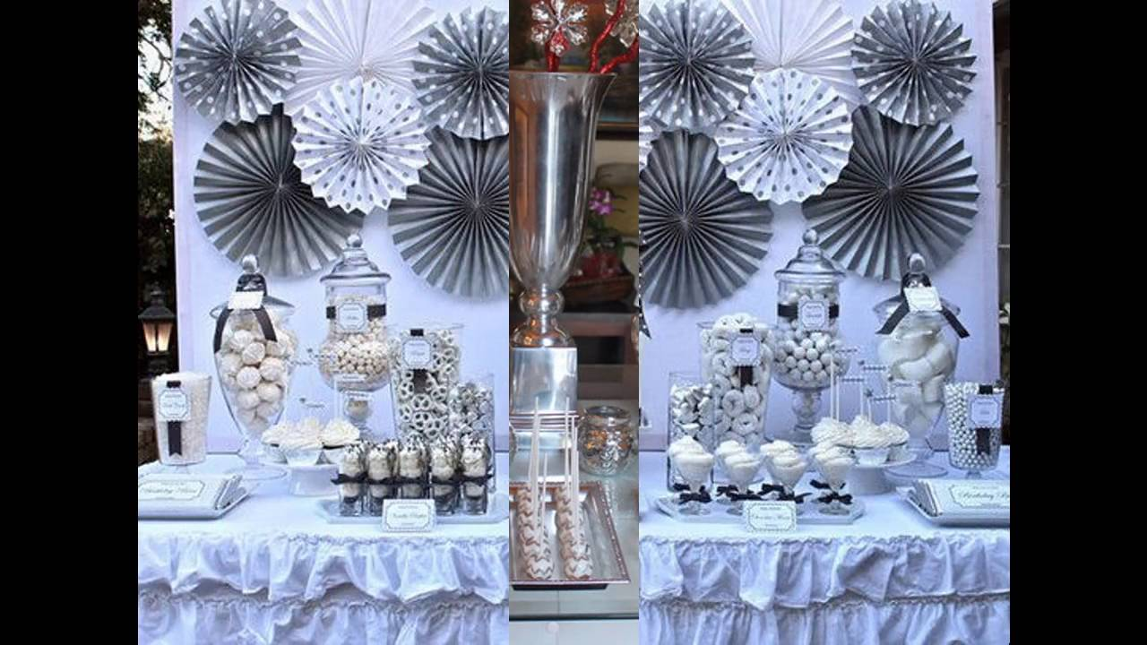 Anniversary party decoration ideas youtube for Anniversary decoration ideas