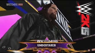 WWE 2K15 PC MOD: WrestleMania XXX The Undertaker (Ministry Of Darkness) vs John Cena