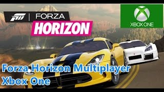 Forza Horizon Multiplayer - Xbox One Remastered