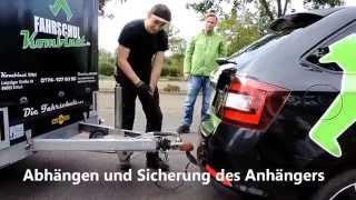 Anhänger-Führerschein   Fahrschulkombinat Erfurt & Stotternheim