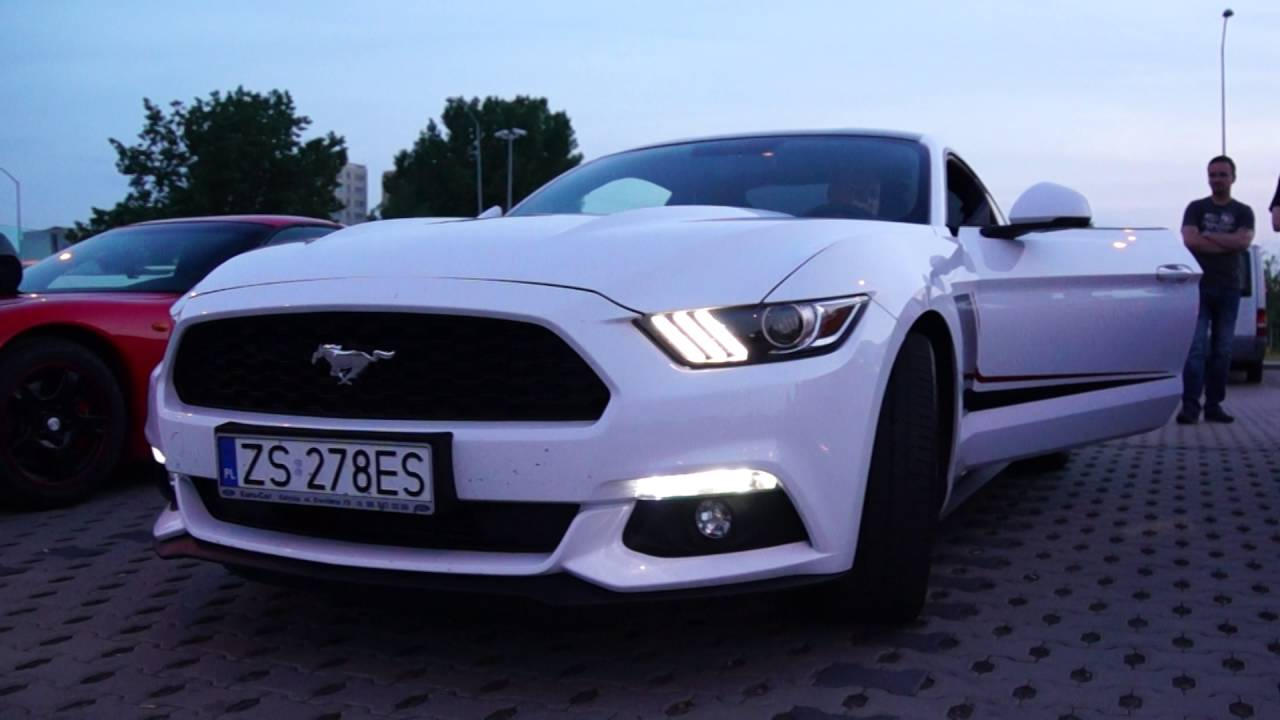 Ford Mustang 2.3 Ecoboost Sound Tuning