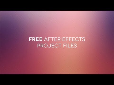 After Effects Project Files Free Downloadwithout Using Torrent