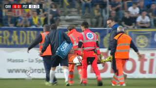calcio, playoff serie C: carrarese-pistoiese 5-0
