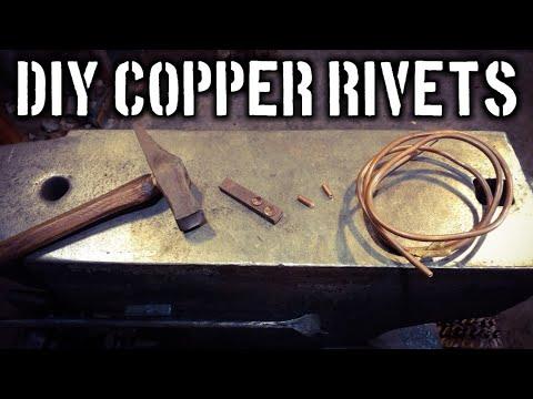 DIY Copper Rivets