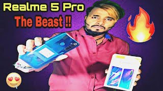 Realme 5 Pro Unboxing & Full Review | The Midrange Beast 🔥🔥🔥