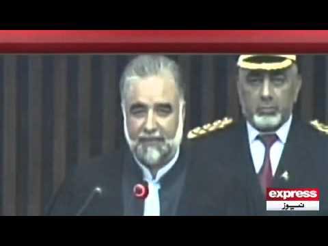 Express News | Sardar Ayaz Sadiq in Assembly