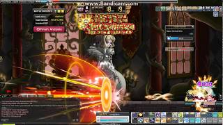Maple Story 1min Chaos Queen Marksman Solo Override uptate