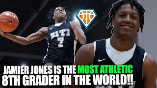 Jamier Jones  S The MOST ATHLET C 8th Grader  N The WORLD MADE Hoops Finale Highlights