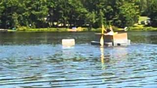 Pine Cradle Lake Cardboard Boat Regatta