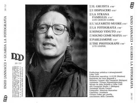 Enzo Jannacci - La Fotografia (1991)
