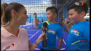 anz hot shots australian open 2017