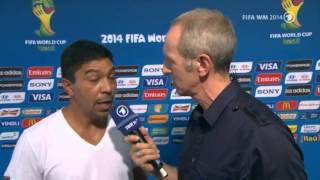 Giovane Élber im Interview nach Brasilien und Deutschland (Viertelfinale)