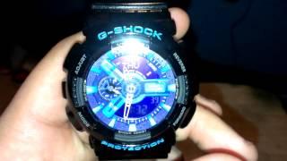 G Shock Hyper Color GA110HC-1