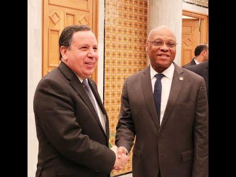 وزير الشؤون الخارجية  يستقبل رئيس مفوضية المجموعة الاقتصادية لدول غرب إفريقي