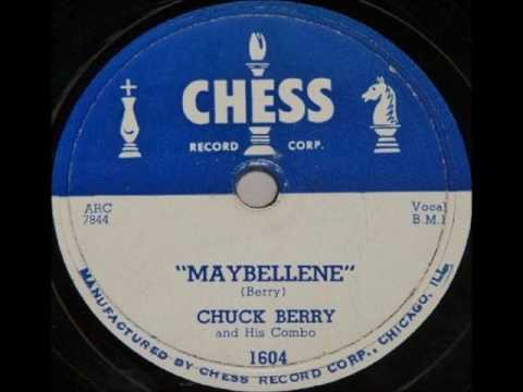 Chuck Berry Maybellene 1955 Chess Records Youtube