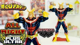 UNBOXING MY HERO ACADEMIA - BANPRESTO |GRANDISTA| - EXCLUSIVE LINES - ALL MIGHT FIGURE