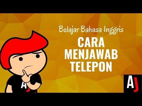Cara Menjawab Telepon dengan Bahasa Inggris