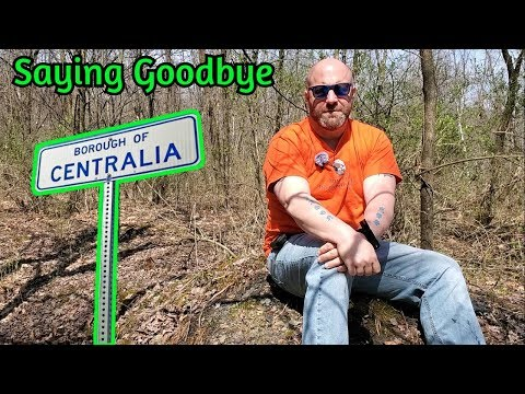 Saying GoodBye To Centralia Pennsylvania's Graffiti Highway