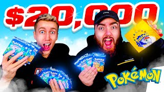 WE OPENED A $20,000 POKEMON BASE SET BOOSTER BOX....*INSANE*