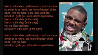 Soulja Boy Ft Jbar - Daze + Lyrics in HD [Sick Version]