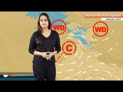 Weather Forecast for Jan 24: Snow in Kashmir, Himachal, Uttarakhand; Rain in TN