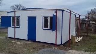 Торговый павильон - ветеринарная клиника (НТО) 6х4,8м