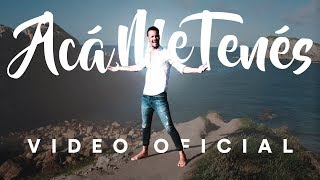 Rodrigo Tapari - Acá Me Tenés (VIDEOCLIP OFICIAL) thumbnail