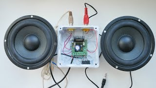 Simple DIY Idea How to Make Powerful Amplifier