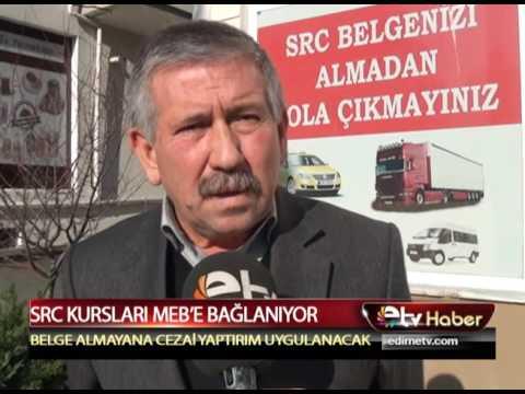 SRC KURSLARI MEB'E BAĞLANIYOR